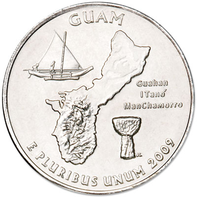 Image for 2009-D Guam Territories Quarter from Littleton Coin Company