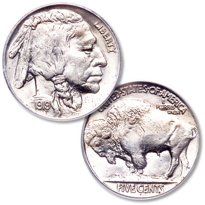 Image for 1919 Buffalo Nickel from Littleton Coin Company