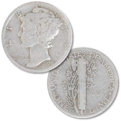 Image for 1928-S Mercury Dime from Littleton Coin Company