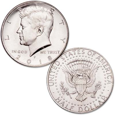 Image for 2018-P Kennedy Half Dollar from Littleton Coin Company