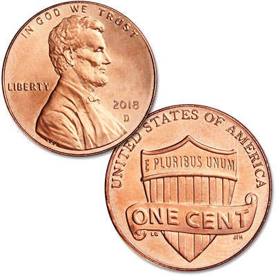 Image for 2018-D Lincoln Head Cent from Littleton Coin Company