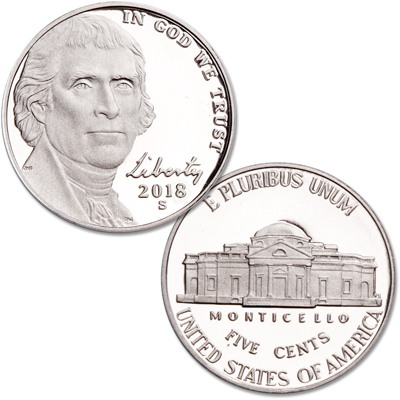 Image for 2018-S Jefferson Nickel from Littleton Coin Company