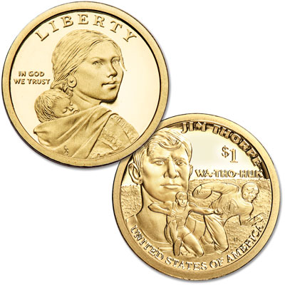 Image for 2018-S Native American Dollar from Littleton Coin Company