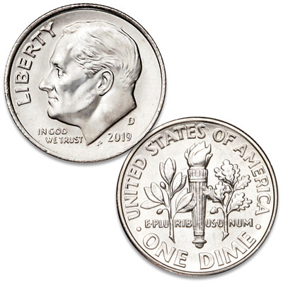Image for 2019-D Roosevelt Dime from Littleton Coin Company