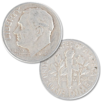 Image for 1948 Roosevelt Silver Dime from Littleton Coin Company