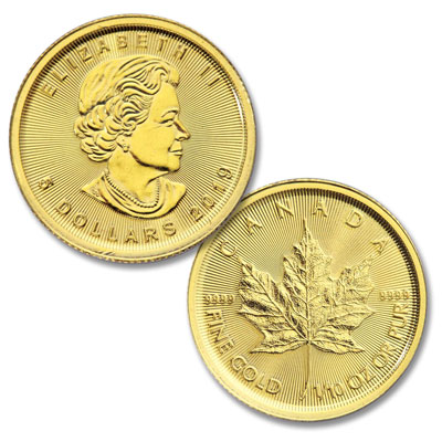 Image for 2019 Canada Gold 1/10 oz. $5 Maple Leaf from Littleton Coin Company