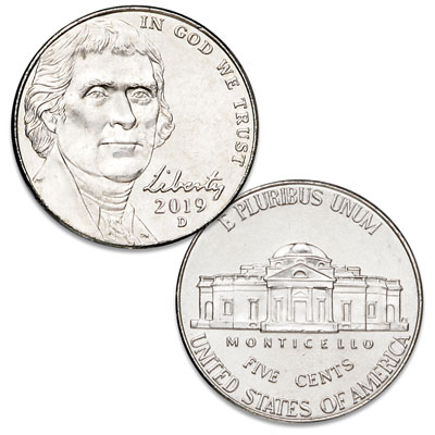 Image for 2019-D Jefferson Nickel from Littleton Coin Company