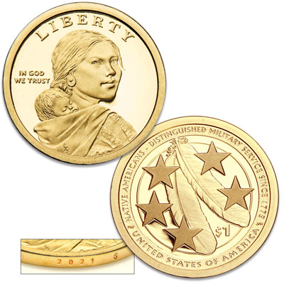 Image for 2021-S Native American Dollar from Littleton Coin Company