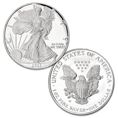 Image for 2021-W Silver American Eagle from Littleton Coin Company