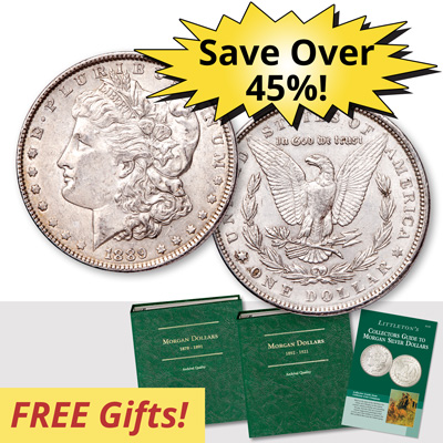 Image for Morgan Dollar Year Set Club from Littleton Coin Company