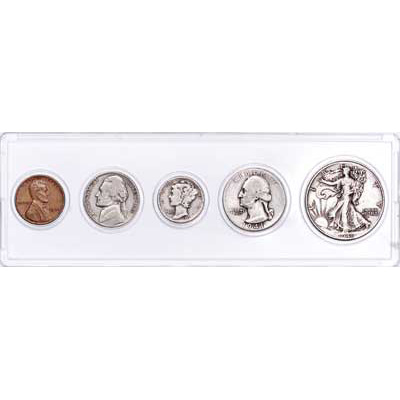 Image for 1941 Year Set with Holder from Littleton Coin Company