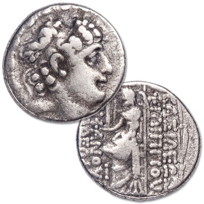 Image for 60-43 B.C. Philip I Philadelphus Silver Tetradrachm from Littleton Coin Company