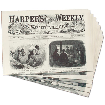 Image for Harper's Weekly from the Civil War from Littleton Coin Company
