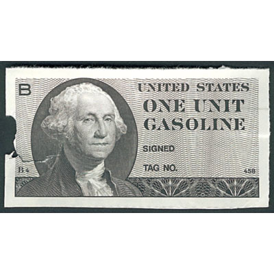 Image for 1974 Gas Ration Coupon from Littleton Coin Company