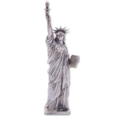 Image for 5 oz. Sterling Silver Lady Liberty Statue from Littleton Coin Company