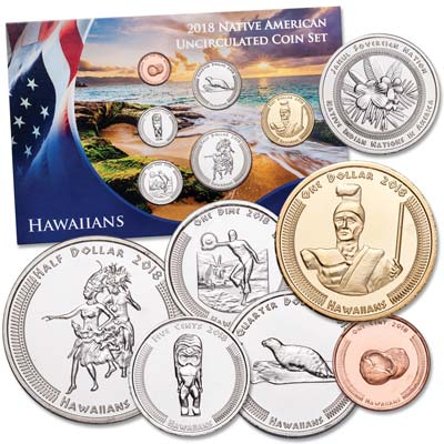 Image for 2018 Jamul Indian Coin Set - Native Hawaiians from Littleton Coin Company