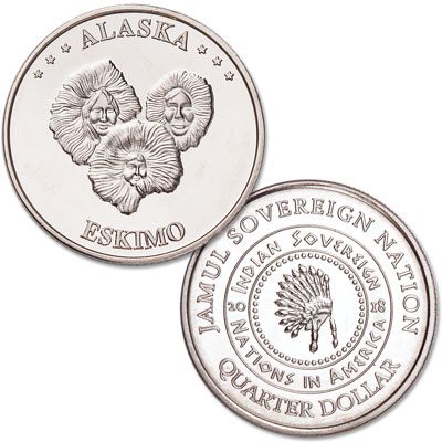 Image for 2018 Eskimo Native American Quarter from Littleton Coin Company