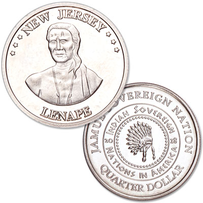 Image for 2018 Lenape Native American Quarter from Littleton Coin Company