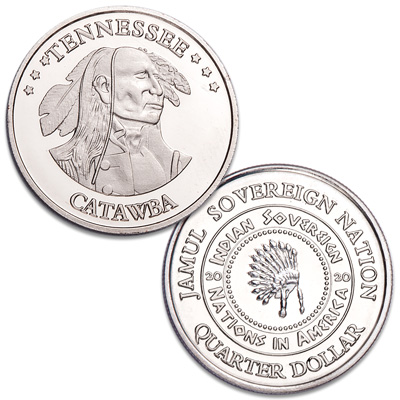Image for 2020 Catawba Native American Quarter from Littleton Coin Company