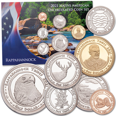 Image for 2021 Jamul Indian Coin Set - Rappahannock Nation from Littleton Coin Company