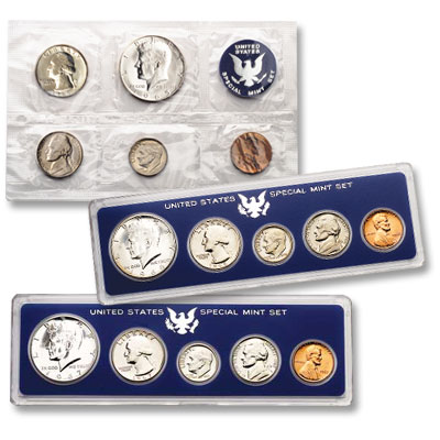 Image for 3 Different Special U.S. Mint Sets (1965, 1966 & 1967), Uncirculated from Littleton Coin Company