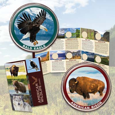 Image for American Wildlife Series Subscription Program from Littleton Coin Company
