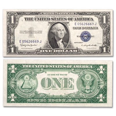 Image for 1935H $1 Silver Certificate from Littleton Coin Company