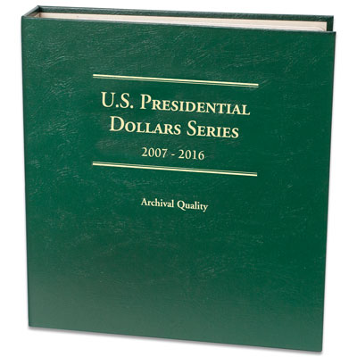 Image for 2007-2016 P&D Presidential Dollar Album from Littleton Coin Company