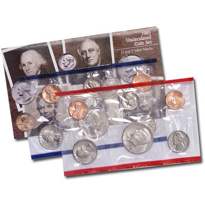 Image for 1985 U.S. Mint Set from Littleton Coin Company
