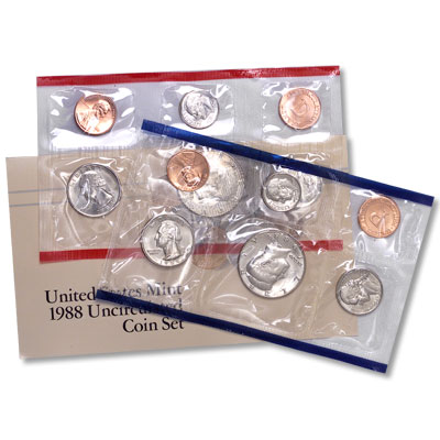 Image for 1988 U.S. Mint Set from Littleton Coin Company