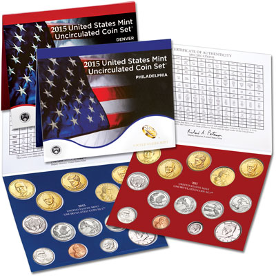 Image for 2015 U.S. Mint Set from Littleton Coin Company