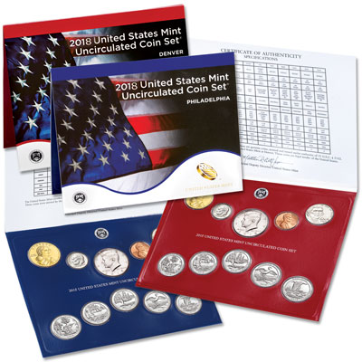 Image for 2018 U.S. Mint Set from Littleton Coin Company
