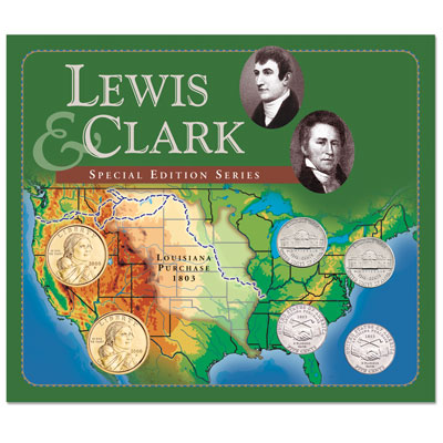 Image for Lewis & Clark Collector's Set (6 coins) from Littleton Coin Company
