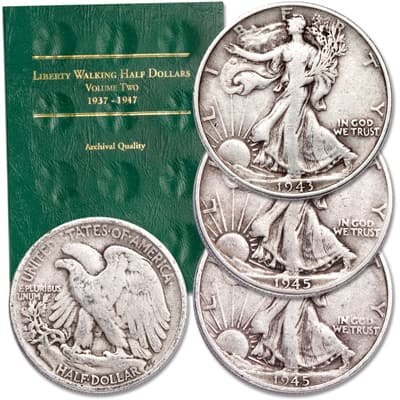 Image for 1916-1947 Liberty Walking Half Dollar Set from Littleton Coin Company