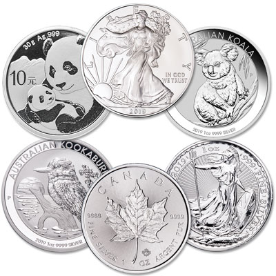 Image for 2019 Silver World Coins from Littleton Coin Company