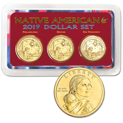 Image for 2019 PDS Native American Dollar Showpak from Littleton Coin Company