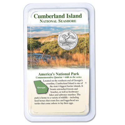 Image for 2018 Cumberland Island National Seashore Quarter in Showpak from Littleton Coin Company