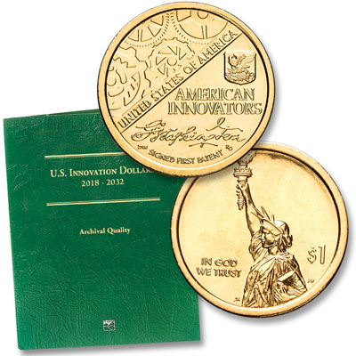 Image for U.S. Innovation Dollar Starter Set from Littleton Coin Company