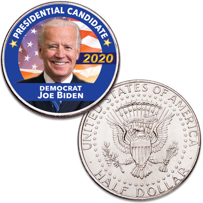 Image for Colorized Joe Biden Presidential Candidate Coin from Littleton Coin Company