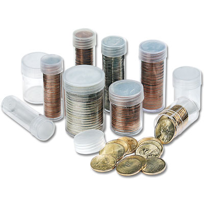 Image for Coin Tubes 20 Large Dollar from Littleton Coin Company