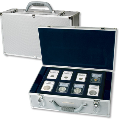 Image for Lighthouse Deluxe Aluminum Coin Case from Littleton Coin Company