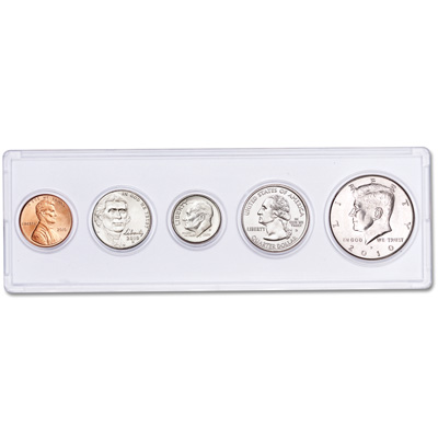 Image for 2010 5th Anniversary Year Set (5 coins) from Littleton Coin Company